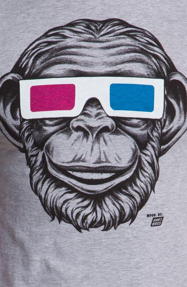 Alternate Image 3  - Ames Bros Trim Fit Crewneck T-Shirt (Men)