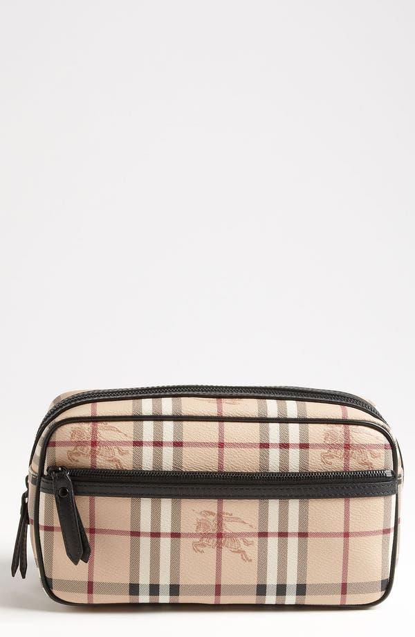 Alternate Image 1 Selected - Burberry 'Haymarket Check - Coalburn' Travel Kit