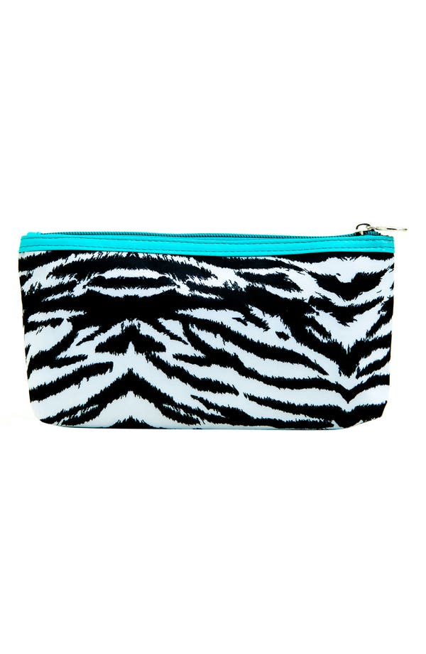 Alternate Image 2  - Tricoastal Design 'Zebra' Cosmetics Bag Set
