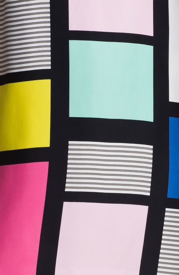 Alternate Image 3  - kate spade new york 'claudette' colorblock shift dress