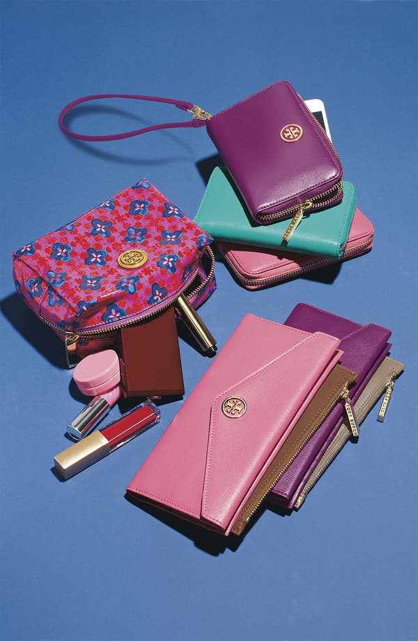 Alternate Image 5  - Tory Burch 'Brigitte' Cosmetics Case