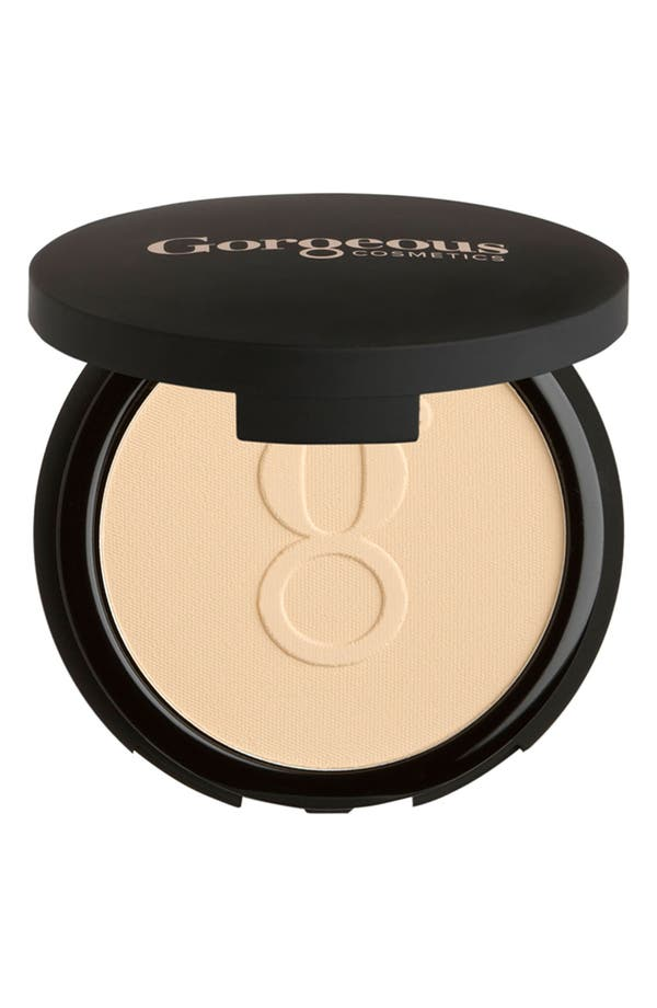 Main Image - Gorgeous Cosmetics 'Powder Perfect' Pressed Powder