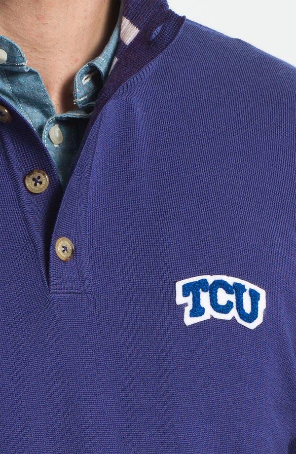 Alternate Image 3  - Thomas Dean 'Texas Christian University' Wool Sweater