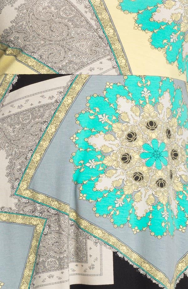 Alternate Image 3  - Karen Kane Handkerchief Tunic (Plus)