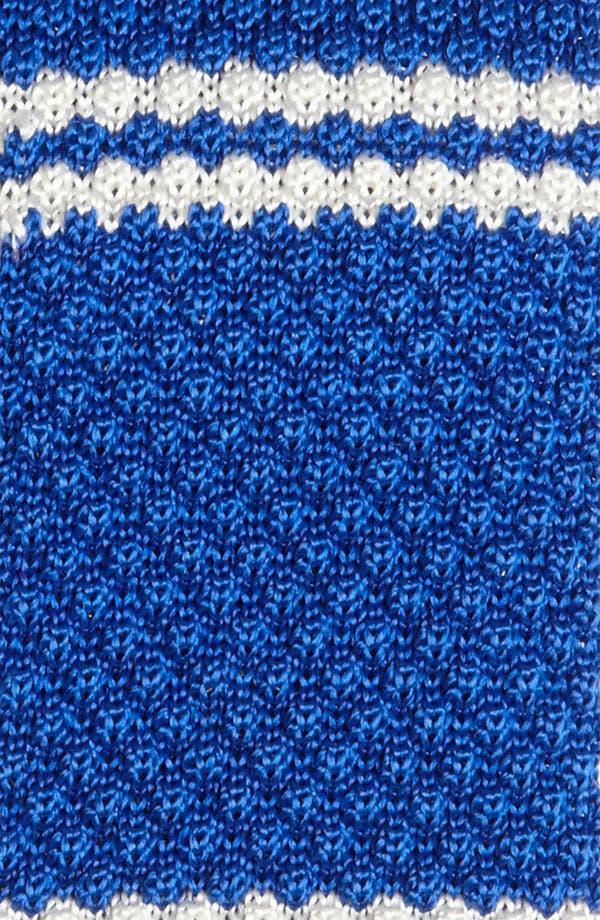 Alternate Image 2  - Gitman Knit Silk Tie (Online Only)
