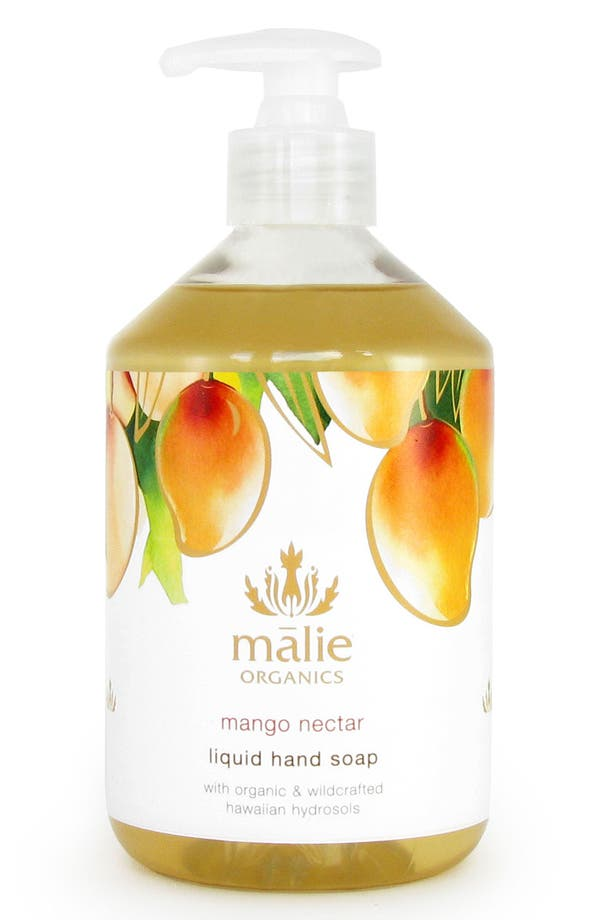 Main Image - Malie Organics Mango Nectar Organic Hand Soap