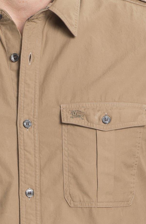 Alternate Image 3  - Burberry Brit 'Keeling' Trim Fit Cotton Sport Shirt