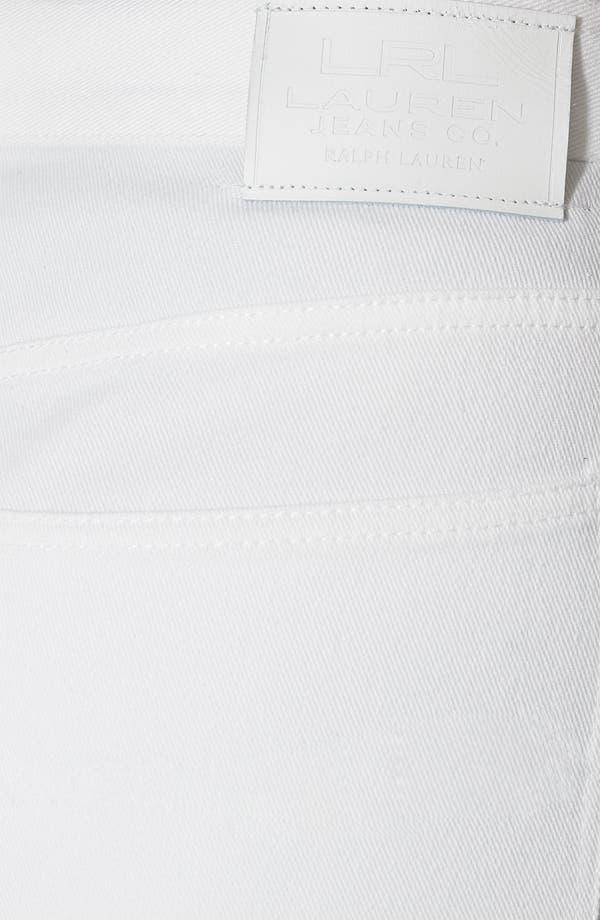 Alternate Image 3  - Lauren Ralph Lauren Straight Leg Jeans (Plus)