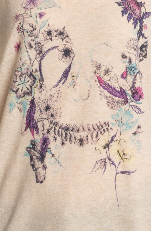 Alternate Image 3  - Zadig & Voltaire 'Celsa' Print Cashmere Henley