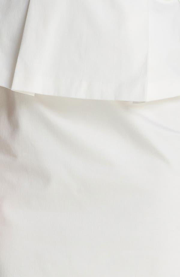 Alternate Image 3  - Calvin Klein Embellished Peplum Dress