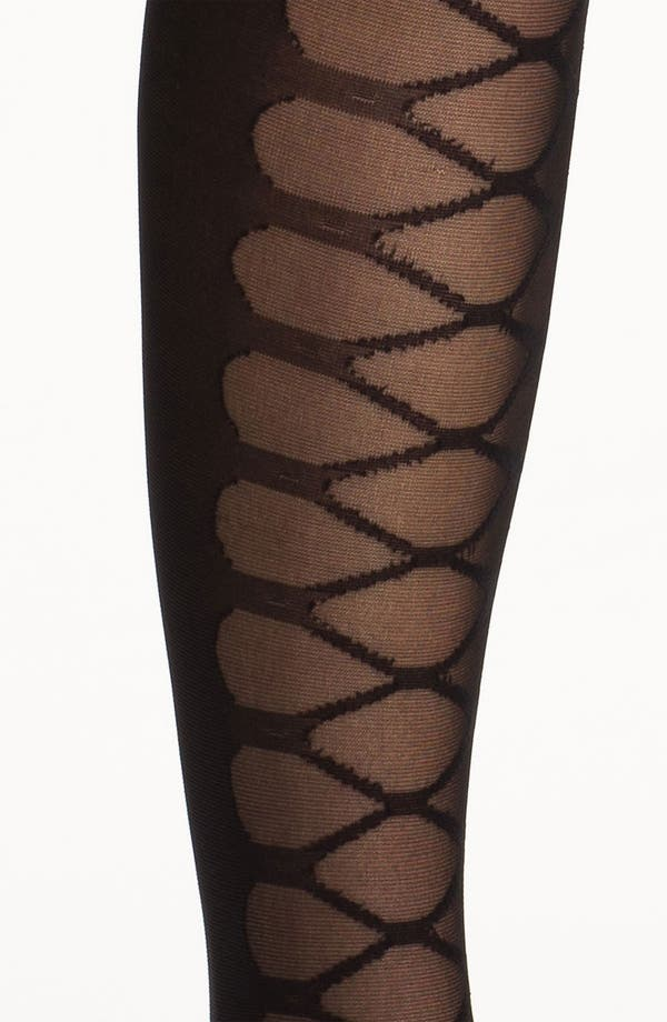 Alternate Image 2  - Nordstrom 'Lace It Up' Tights