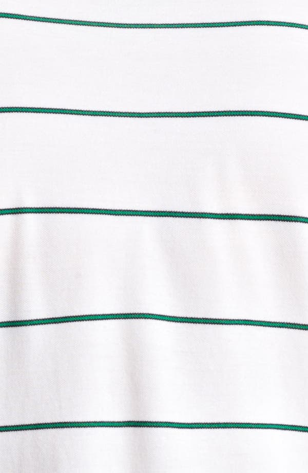 Alternate Image 3  - Band of Outsiders Stripe Piqué Polo