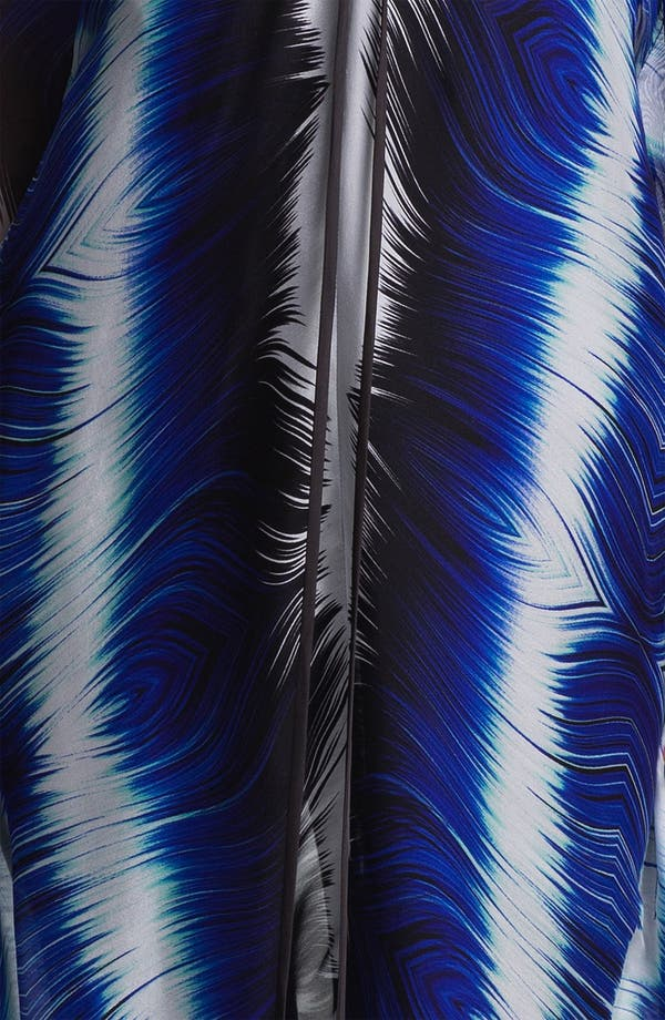 Alternate Image 3  - Alberto Makali Feather Print Silk Caftan