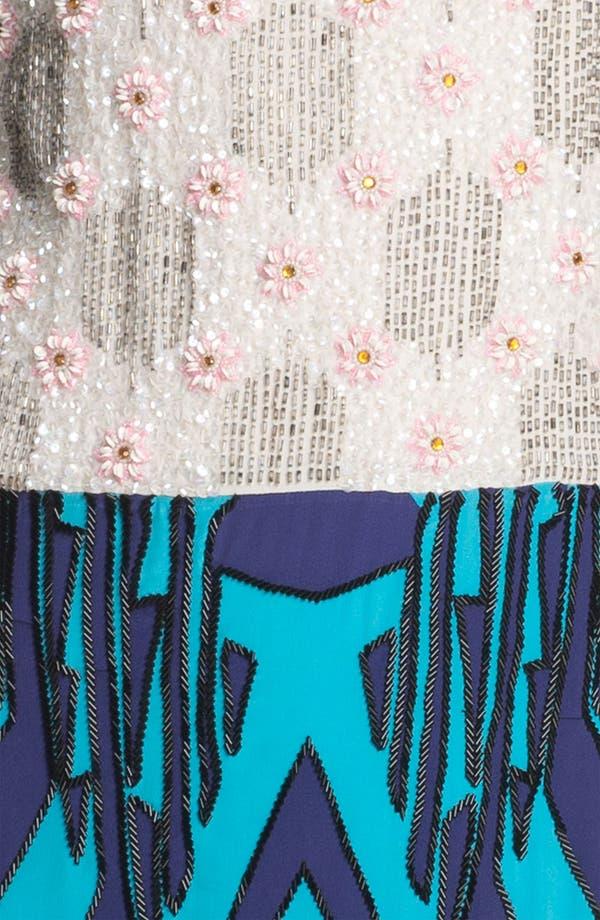 Alternate Image 3  - Tracy Reese Beaded Silk Shift Dress