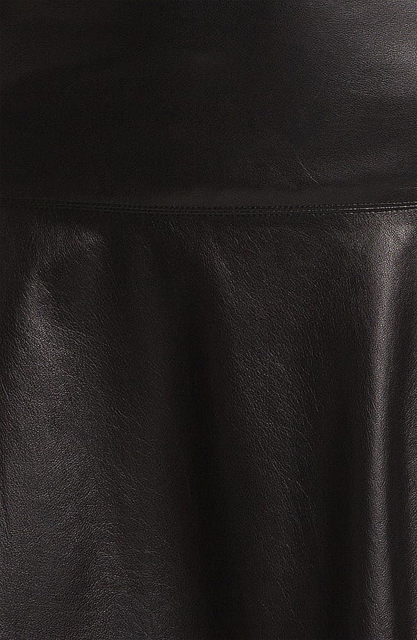 Alternate Image 3  - Vince Leather Skirt