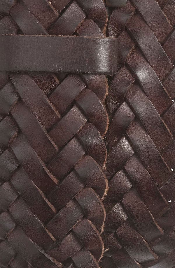 Alternate Image 2  - Nordstrom Braided Leather Belt