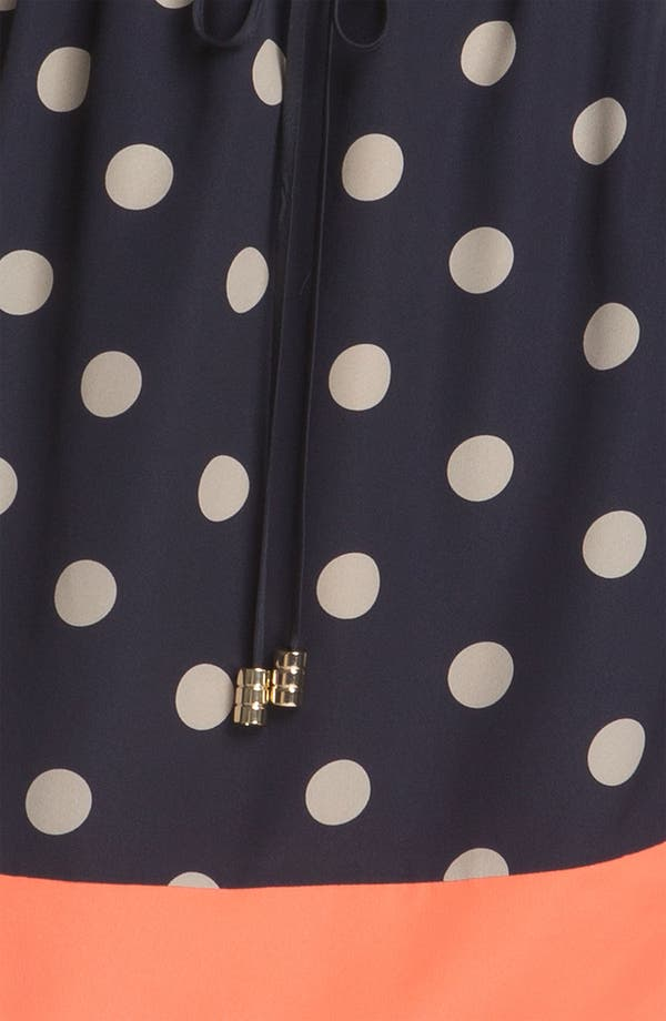 Alternate Image 3  - Eliza J Sleeveless Polka Dot Dress