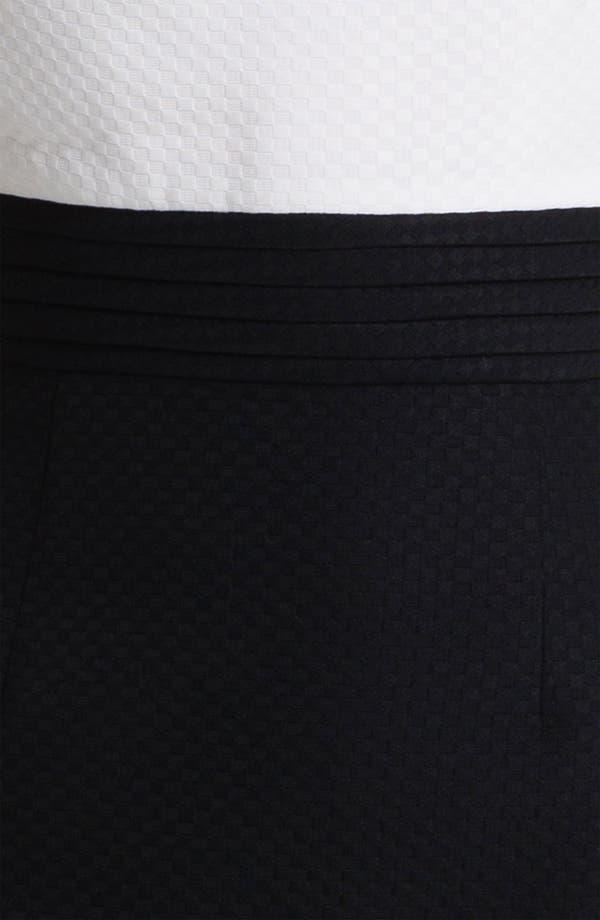 Alternate Image 3  - Tahari Two Tone Jacquard Sheath Dress