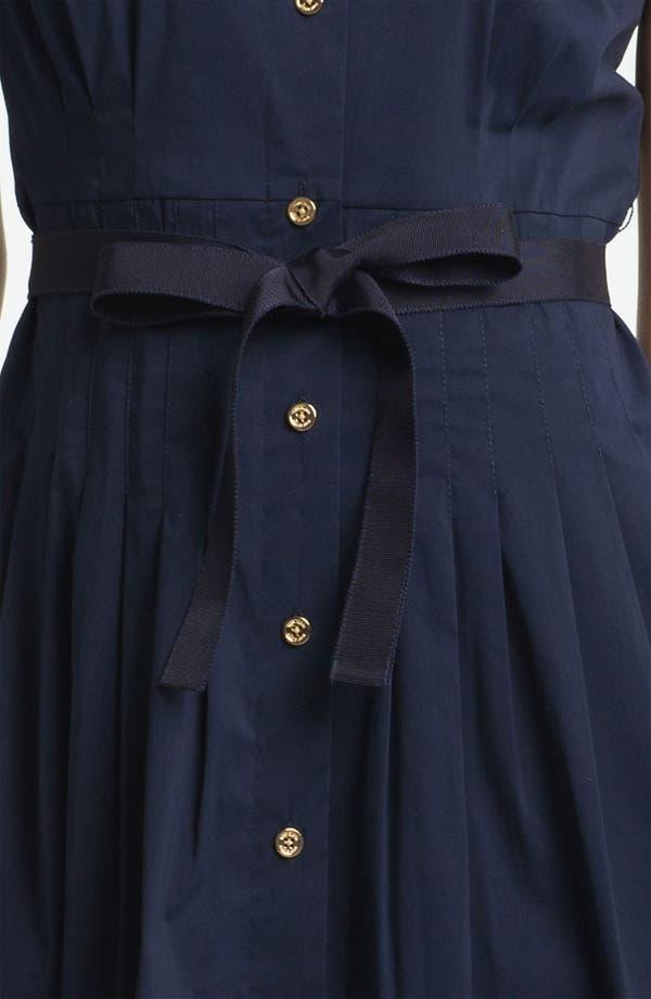Alternate Image 3  - Tory Burch 'Janet' Cotton Blend Shirtdress