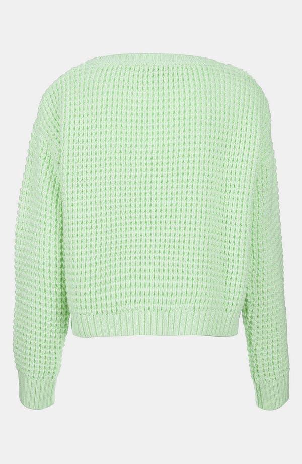 Alternate Image 2  - Topshop Crop Sweater