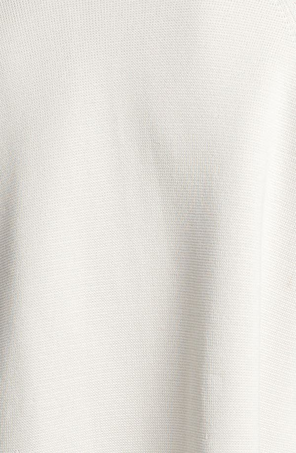 Alternate Image 3  - Eileen Fisher Silk & Cotton Interlock Knit Jacket (Petite)