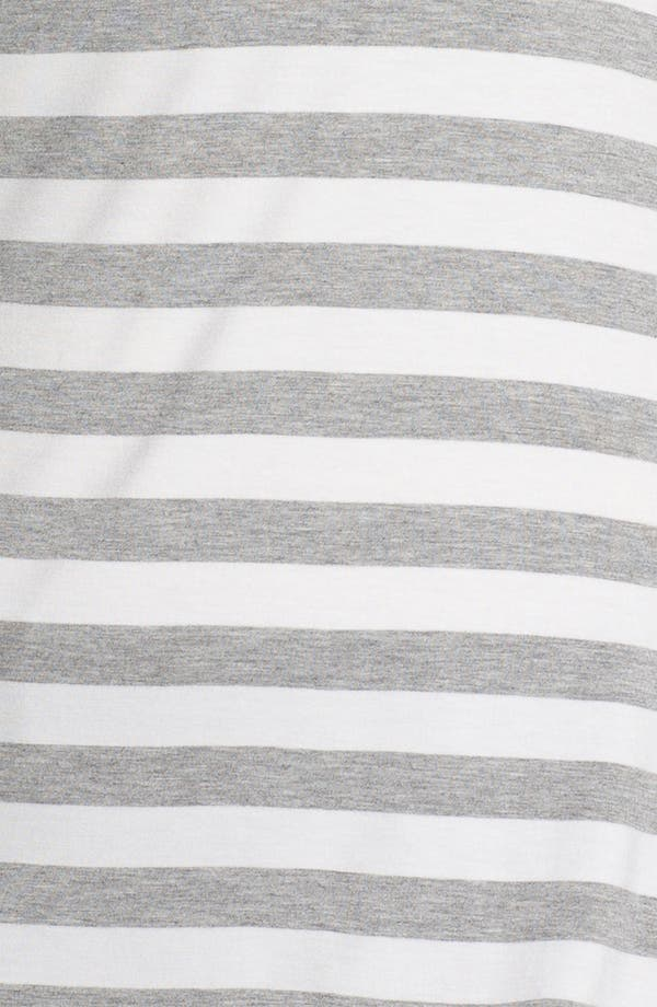 Alternate Image 3  - MICHAEL Michael Kors Stripe Side Tie Tee (Plus)