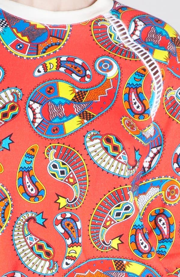 Alternate Image 5  - MSGM 'Paisley Memphis Print' Sweatshirt
