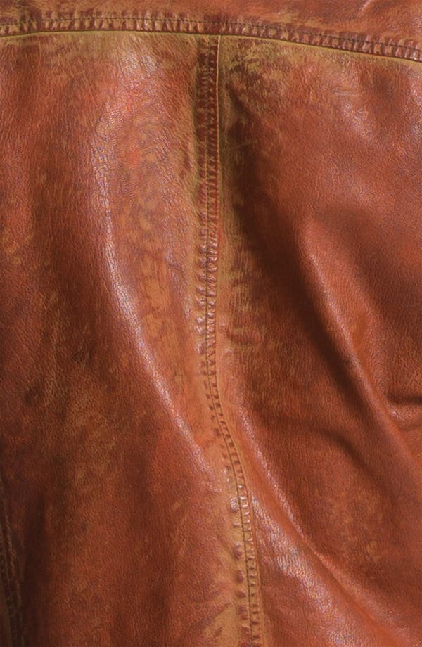 Alternate Image 3  - Scotch & Soda Weathered Leather Moto Jacket