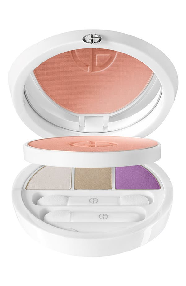 Alternate Image 1 Selected - Giorgio Armani 'Rose Bliss' Face & Eye Palette