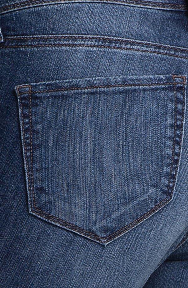 Alternate Image 3  - Mavi Jeans 'Alexa' Braid Trim Jeans (Dark)
