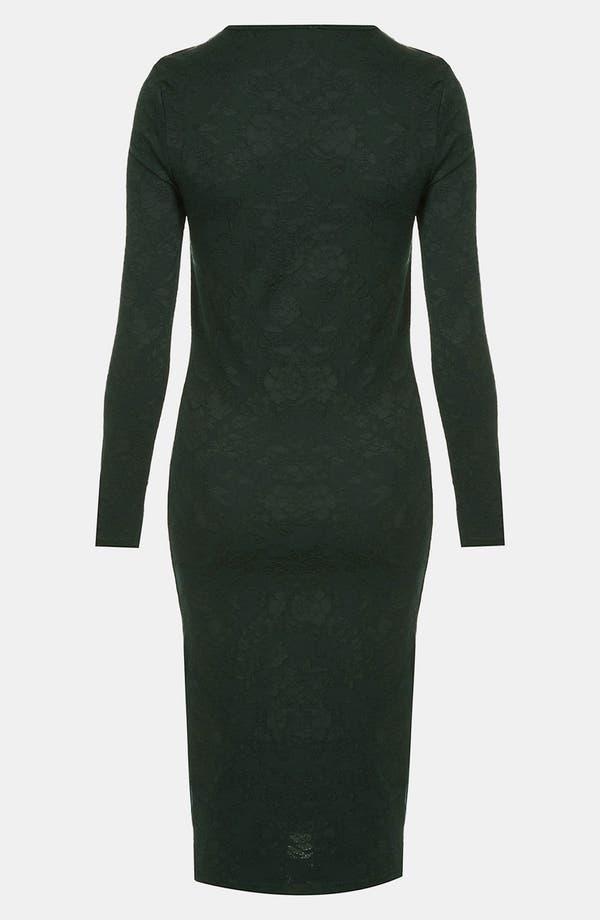 Alternate Image 2  - Topshop Floral Jacquard Body-Con Dress