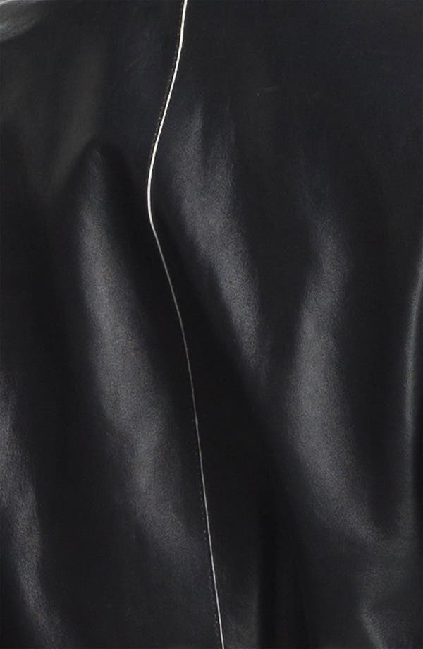 Alternate Image 3  - Vince Leather Bomber Jacket