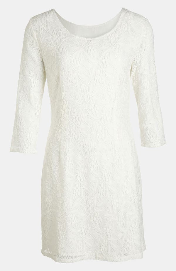 Main Image - RBL Lace Shift Dress