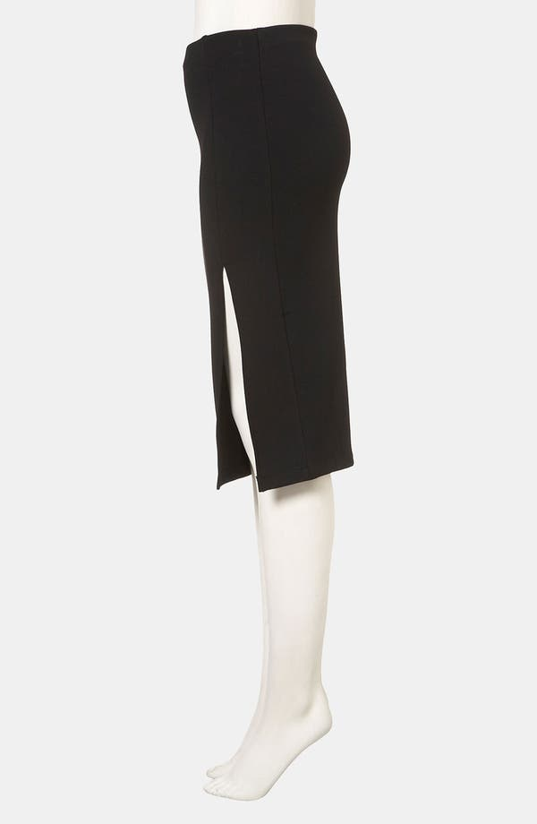 Alternate Image 3  - Topshop Side Slit Pencil Skirt