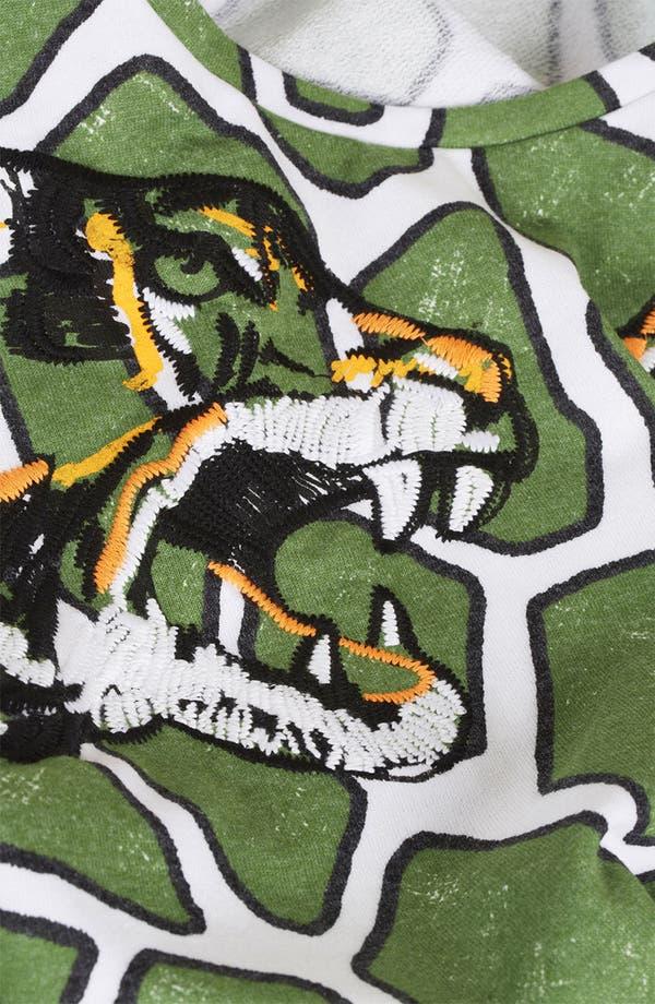 Alternate Image 3  - Topshop Embroidered Tiger Print Sweatshirt