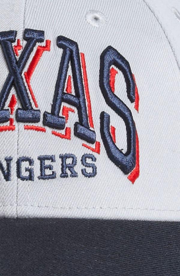 Alternate Image 3  - New Era Cap 'Texas Rangers - Arch Mark' Fitted Baseball Cap