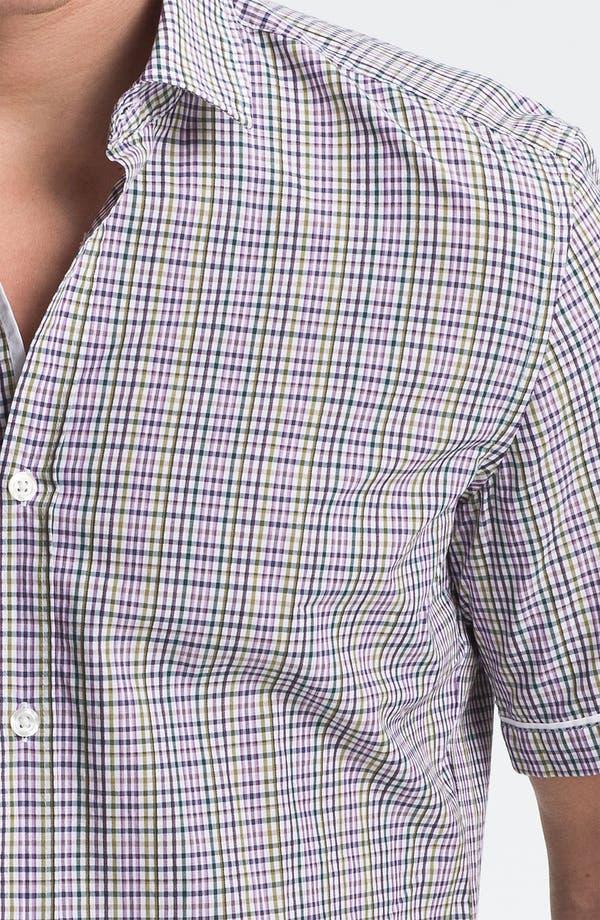Alternate Image 3  - BOSS Black 'Ring 1' Slim Fit Sport Shirt