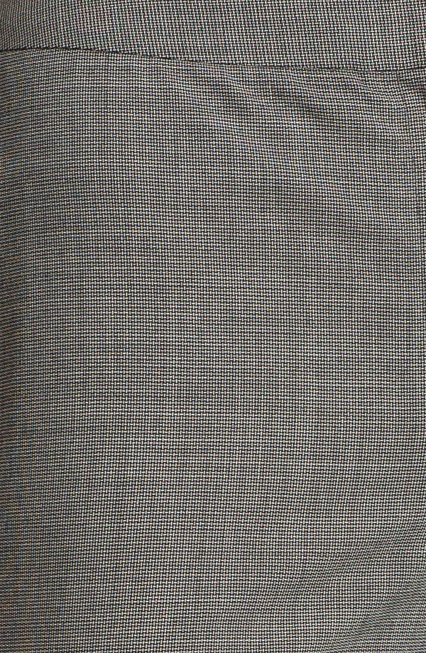 Alternate Image 3  - Lafayette 148 New York Crosshatch Suiting Menswear Pants