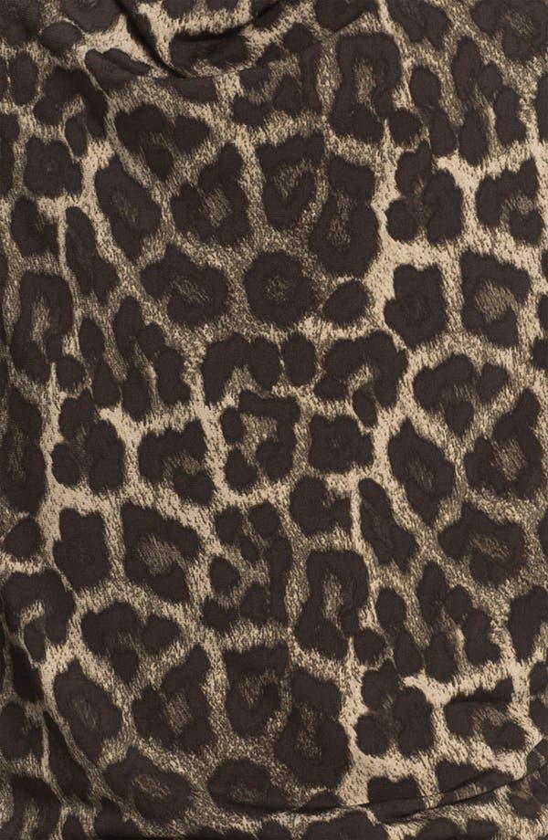 Alternate Image 3  - MICHAEL Michael Kors 'Savannah' Leopard Print Top (Petite)