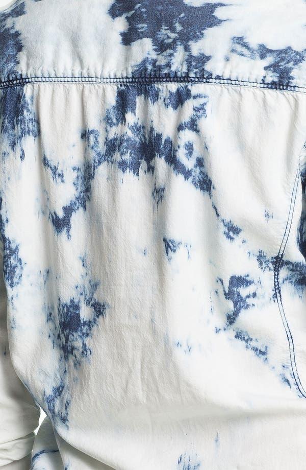 Alternate Image 3  - Rubbish® Bleached Chambray Shirt (Juniors)
