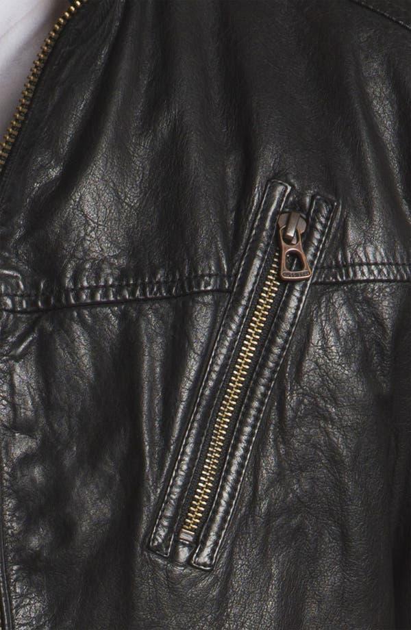 Alternate Image 3  - BOSS Orange 'Jips1' Leather Jacket