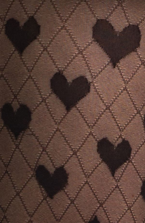 Alternate Image 2  - kate spade new york 'heart to heart' tights