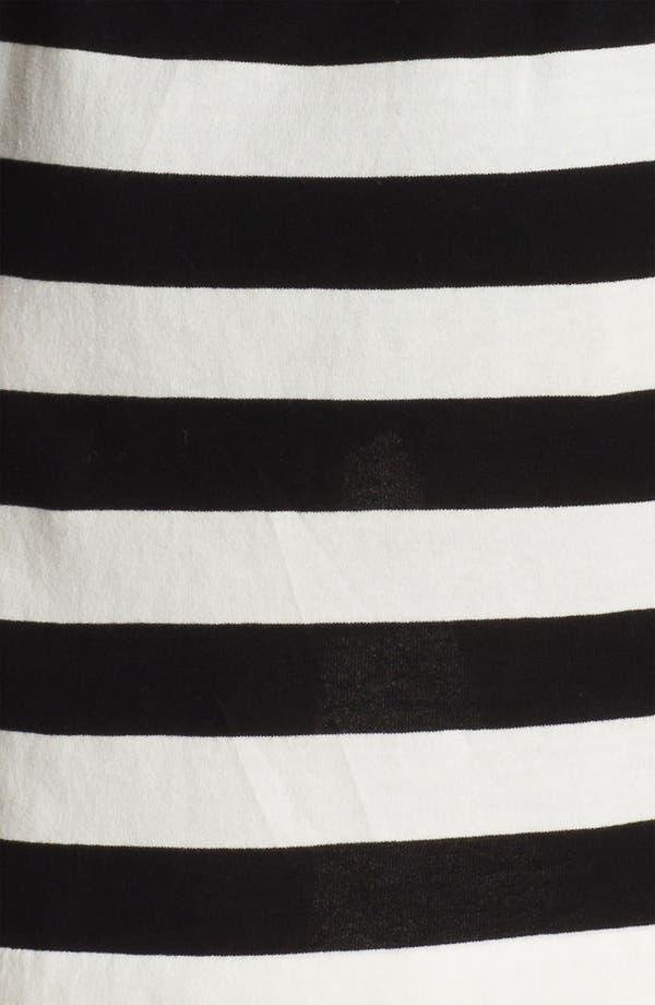 Alternate Image 3  - Vince Camuto Drawstring Waist Stripe Dress