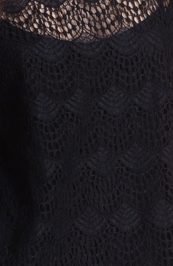 Alternate Image 3  - Ella Moss Scalloped Lace Top