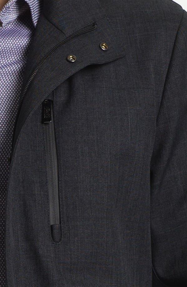 Alternate Image 3  - Armani Collezioni Microfiber Jacket