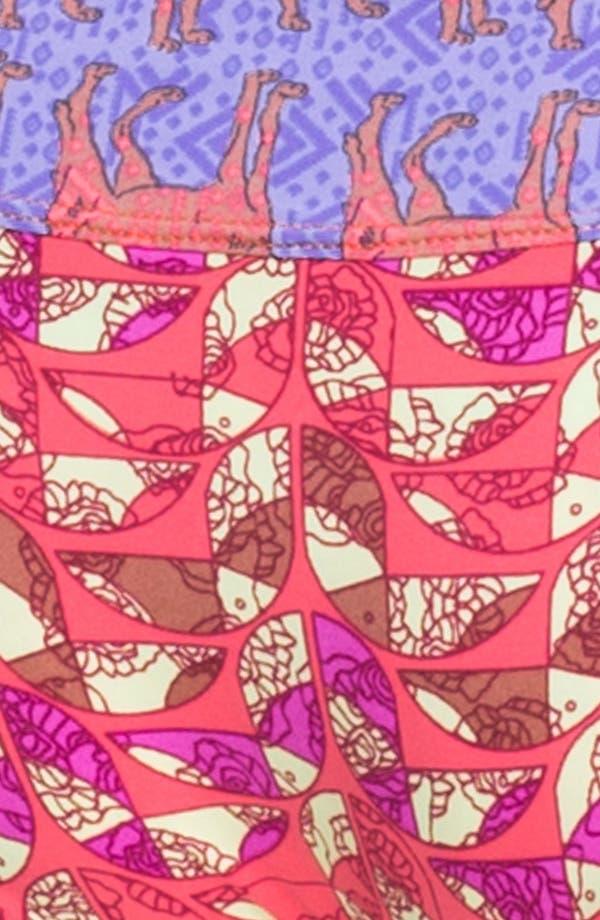 Alternate Image 4  - Maaji 'Peaches & Wolves' Reversible Bikini Bottoms