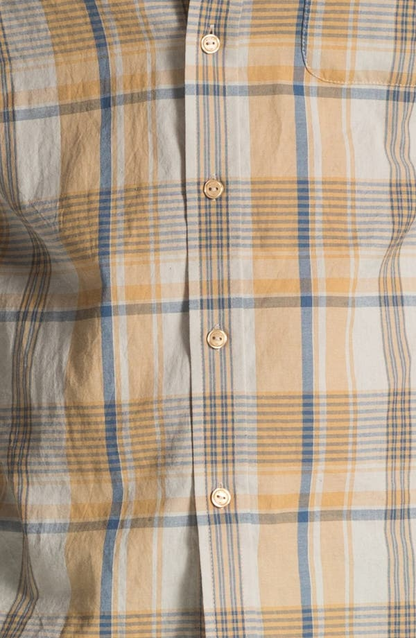 Alternate Image 3  - RVCA 'Nettle' Plaid Woven Shirt