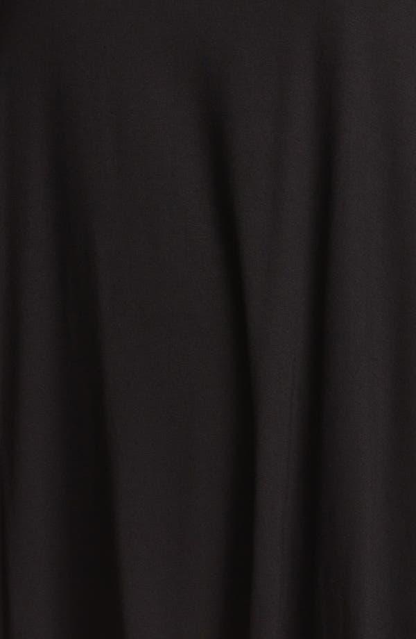 Alternate Image 3  - Evans Sheer Inset Jersey Top (Plus Size)