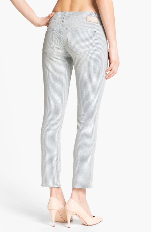 Alternate Image 2  - Mavi Jeans 'Alexa' Super Skinny Print Jeans