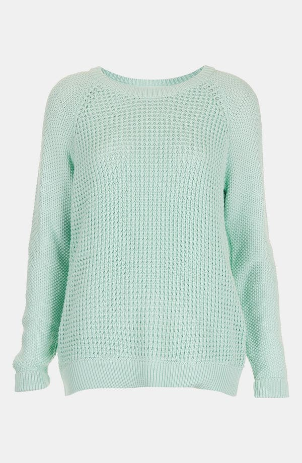 Alternate Image 3  - Topshop 'New Textured Grunge' Sweater